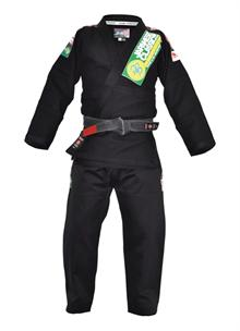 Isami Sachiko Black BJJ Gi With Patches